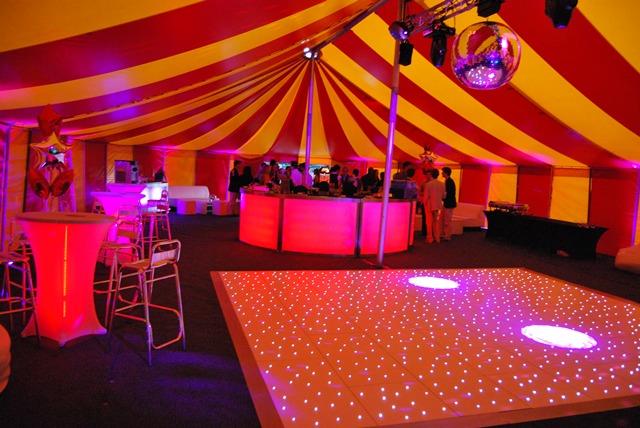 BIg Top tent interior