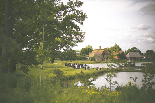 A wedding Photographer in Kent at House Meadow