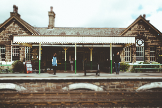 Anna & Myles Embsay Steam Railway Engagement Shoot By Shutter Go Click Photography-16