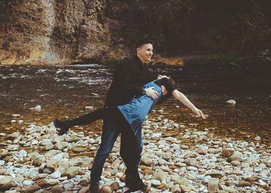 Anna & Myles Embsay Steam Railway Engagement Shoot By Shutter Go Click Photography-57