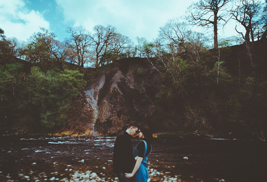 Anna & Myles Embsay Steam Railway Engagement Shoot By Shutter Go Click Photography-58