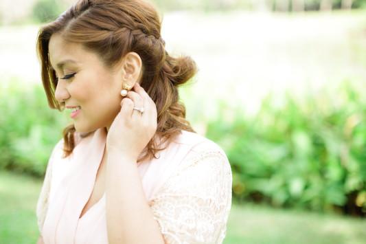BRIDE PEARL EARRINGS