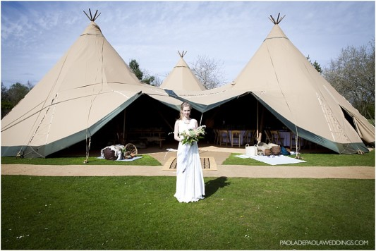 Tipi wedding