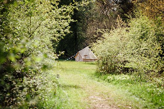 Festival Brides Love: Bears & Butterflies Bell Tent Hire