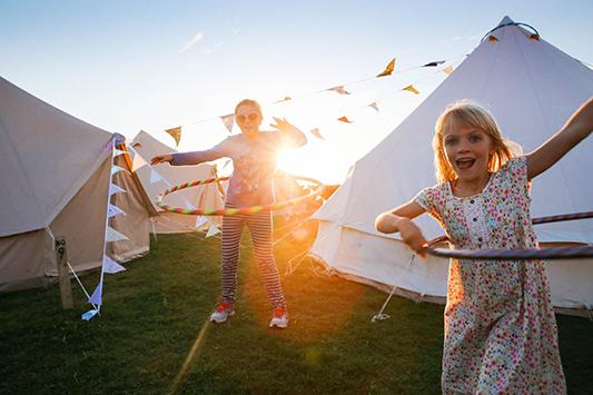 Festival Brides Love: Norfolk Bells