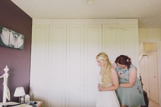 Flo + Ollie Tewkesbury Festival Wedding Scuffins Photography 020