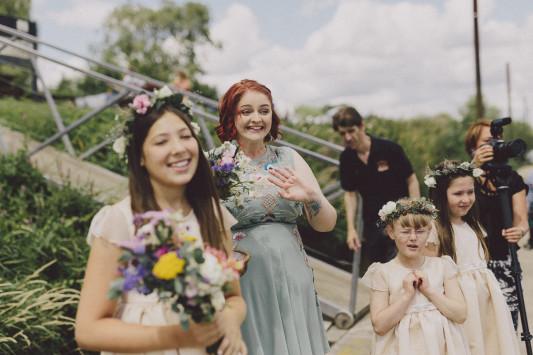 Flo + Ollie Tewkesbury Festival Wedding Scuffins Photography 030