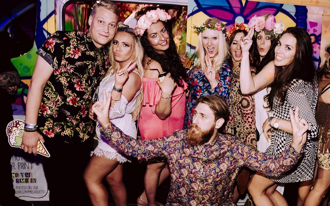Festival Brides Love: Alternative Photo Booths by Megabooth