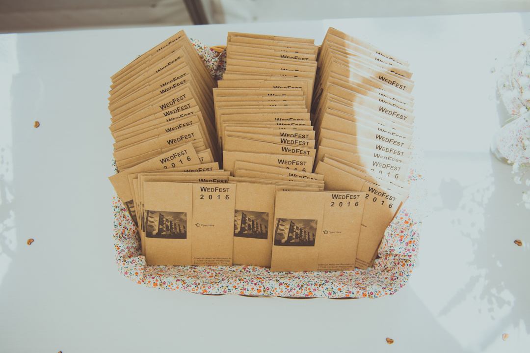 DIY-wedfest-CD-favours-vicky-and-james-festival-wedding