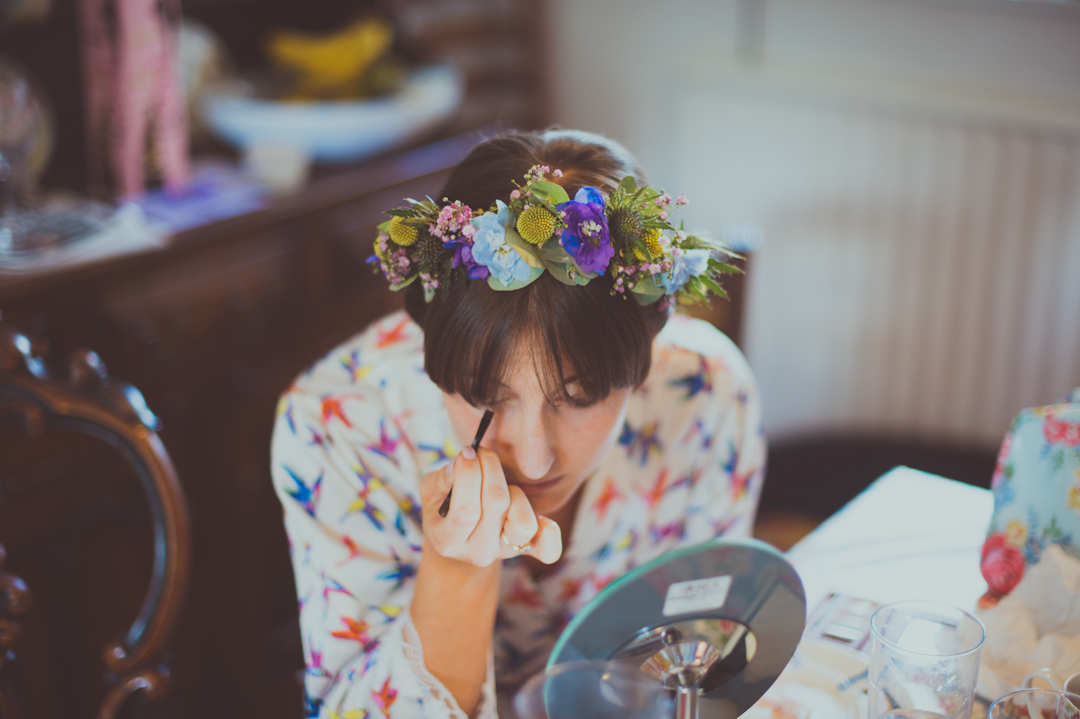flower-garland-boho-wedding-hair-vicky-and-james-festival-wedding