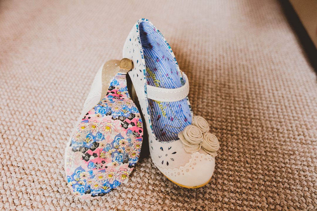 vintage-style-50's-shoes-jen-and-mat's-festival-wedding