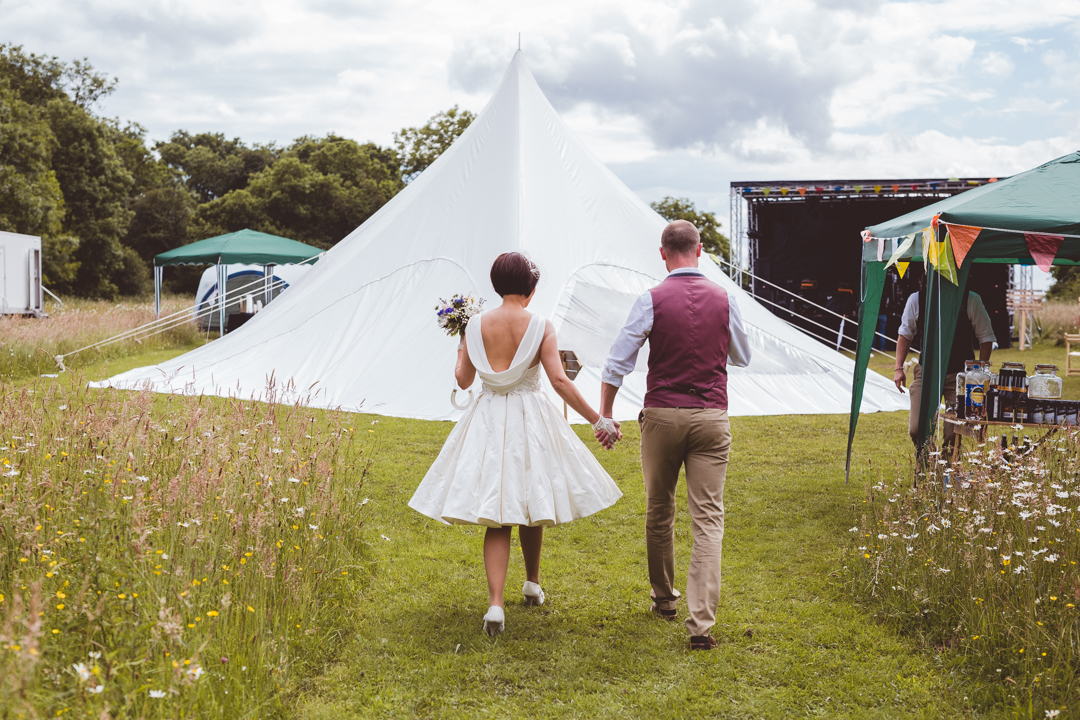 stetch-tents-jen-and-mat's-festival-wedding-at-Scraptoft farm