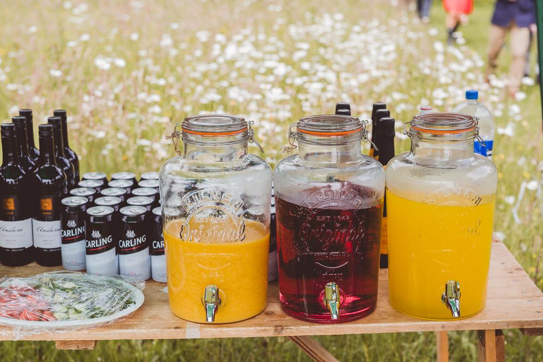 vintage-drinks-jen-and-mat's-festival-wedding-at-Scraptoft farm