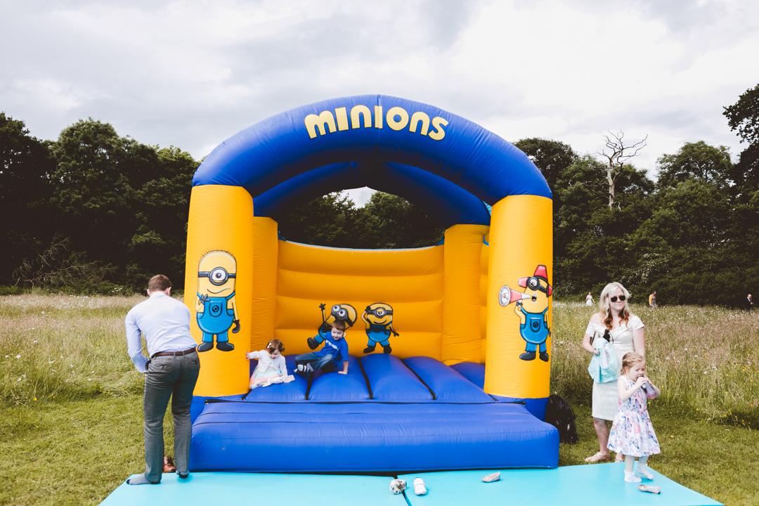 bouncy-castle-jen-and-mat's-festival-wedding-at-Scraptoft farm