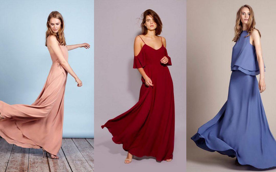 Festival Brides Love: Rewritten Bridesmaid Dresses