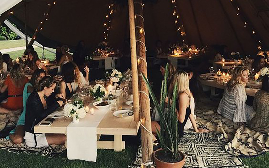 Evening Wedding Vibes | Perfectly Magical Lighting