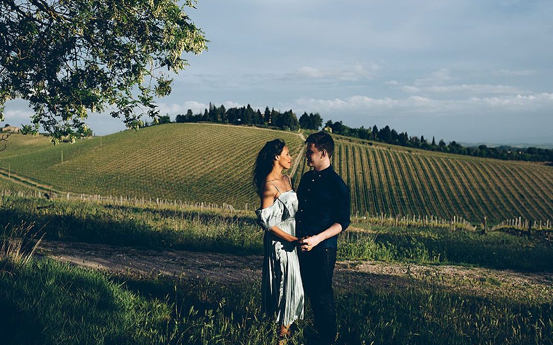 Tasha and Joseph's Tuscany Engagement Shoot