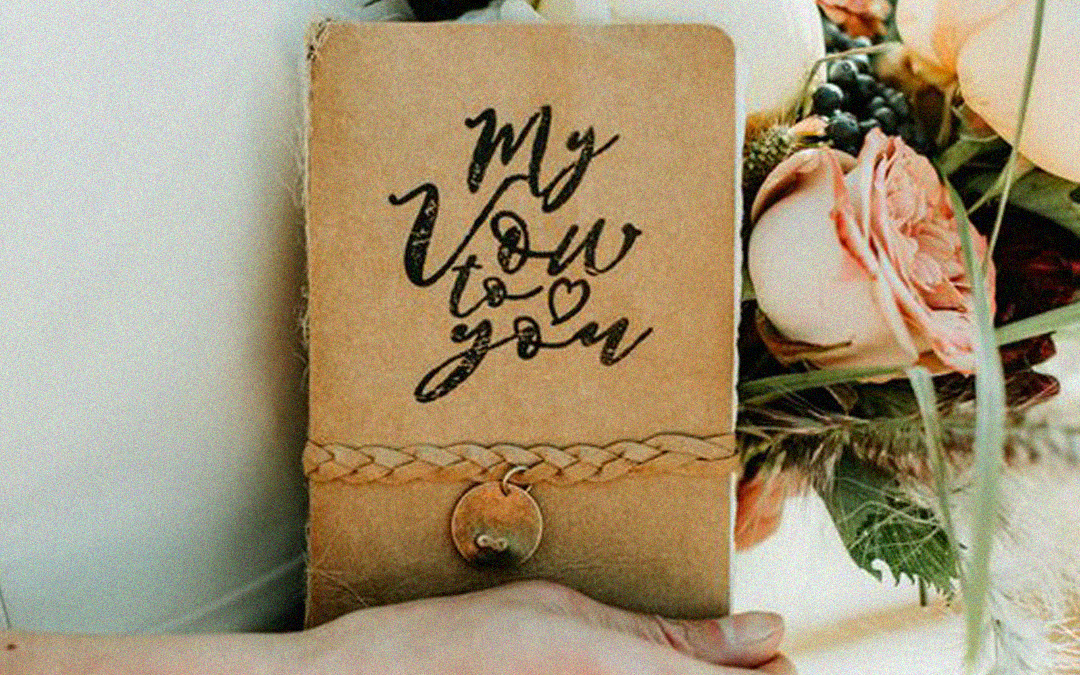 2018 Wedding Trends | Vow Books, a Ceremony Must-have