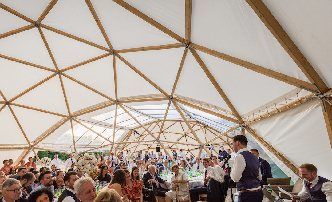 10 Wedding Decor Ideas For Dressing BAYA's Natural and Unique Timber Frame Domes….