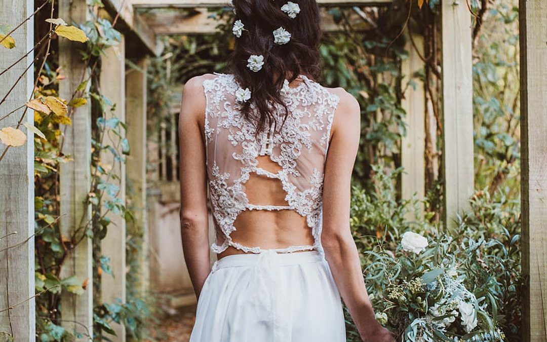 Beautiful Bohemian Bridal Separates and Corsets by Jessica Turner Designs