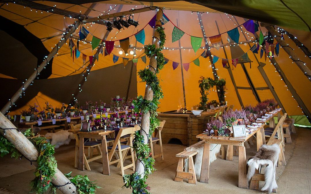 Tipi Wedding Decoration and Styling Ideas from World Inspired Tents