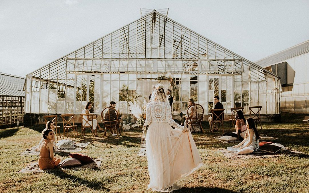 An Intimate and Free Spirited New Age Desert Wedding Shoot with A Bohemian Vibe….