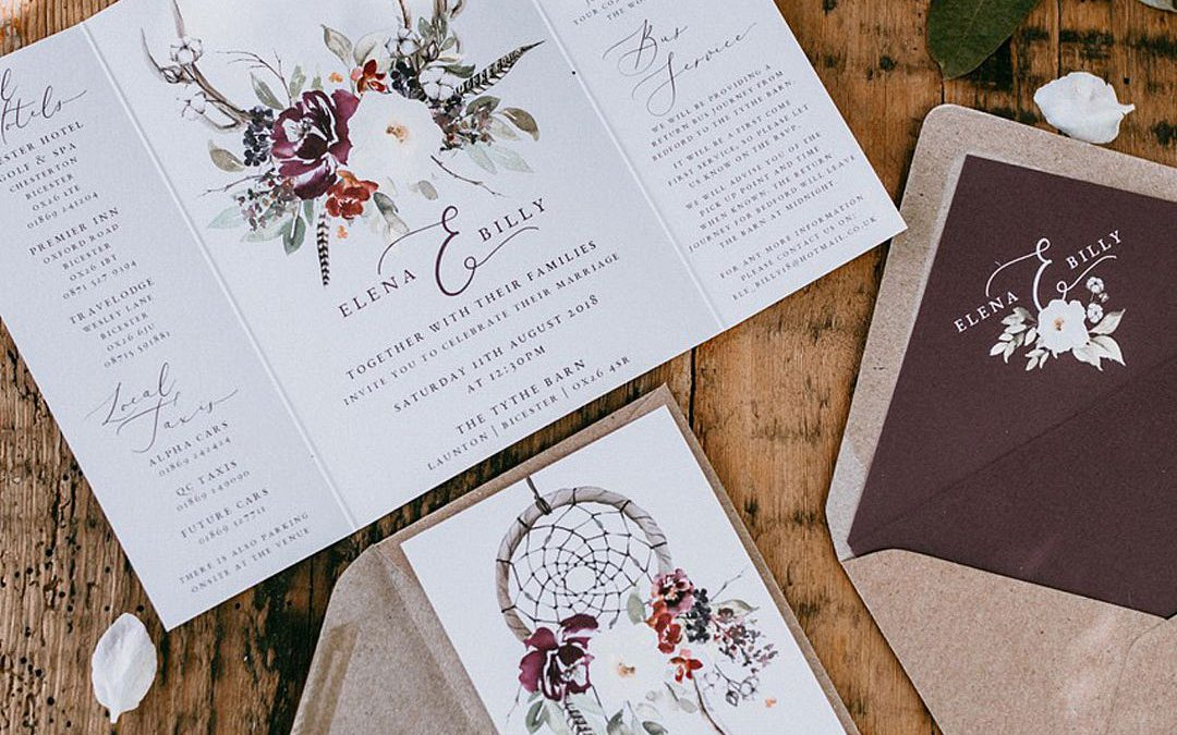 Festival Brides Love: Wonderland Invites