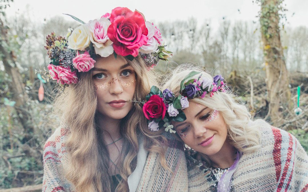 Bespoke For Brides, Hens and Good Friends   A Festival Inspired Hen Do In The Woods
