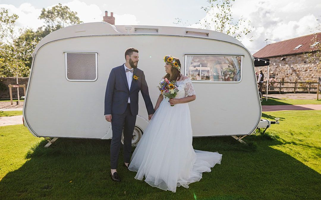 Glastonbury Rave | Kelsey and James' Sunflower Festival Tipi Wedding in Scarborough