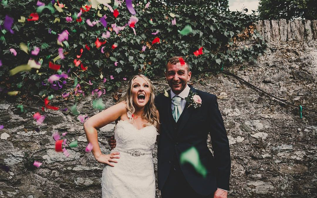 Love on the Lake | Spencer and Ellie's Woodland Festival Barn Wedding in Wales