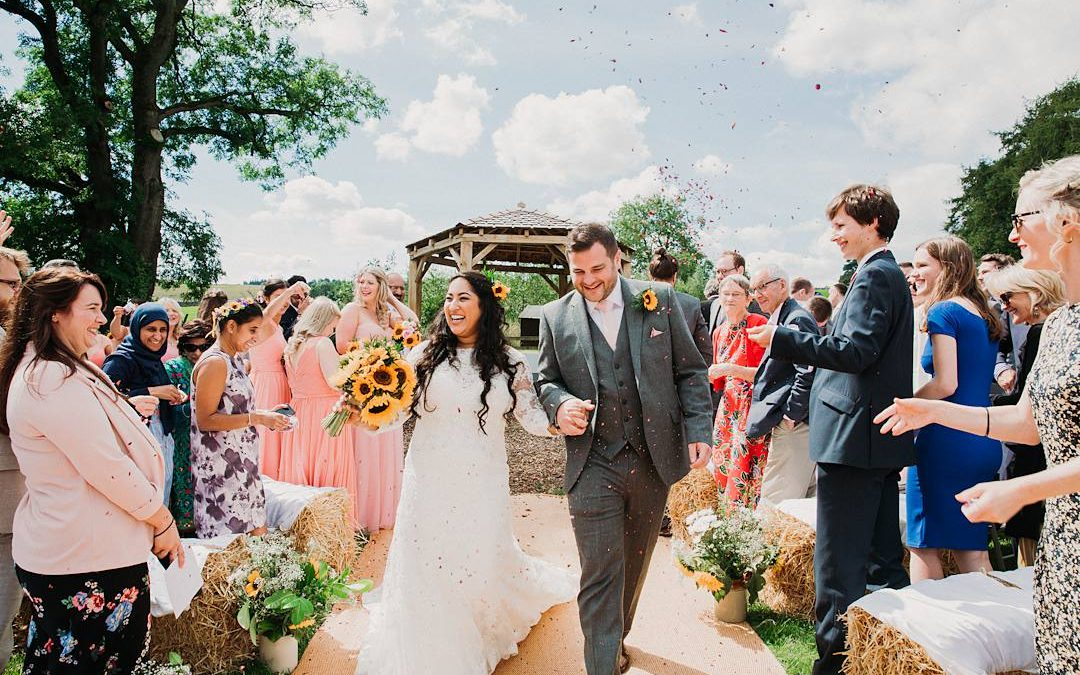 Rustic Romance | Safia and Jonathan's Outdoor DIY Countryside Meadow Wedding in Yorkshire