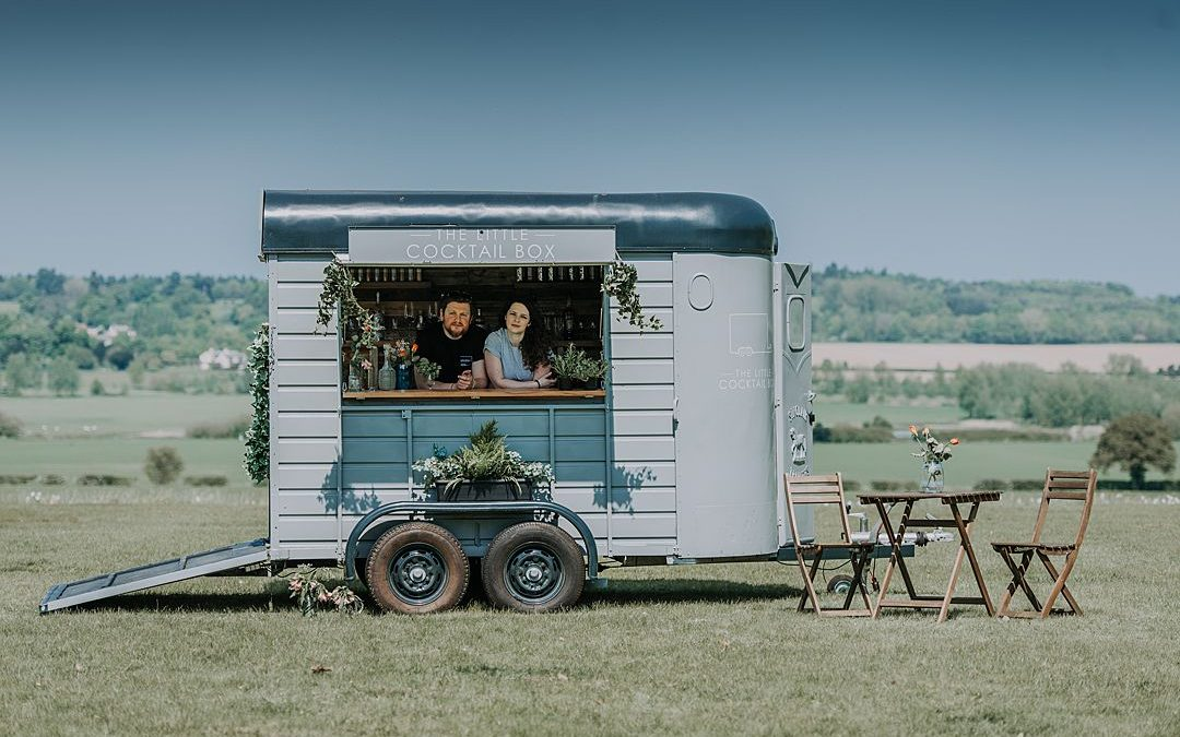 Festival Brides Love: The Little Cocktail Box | Mobile Wedding Bar