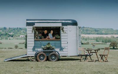 Festival Brides Love: The Little Cocktail Box | Mobile Wedding Bar
