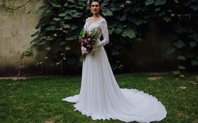 An Urban Boho Bridal Editorial Featuring Aneberry Wedding Dresses
