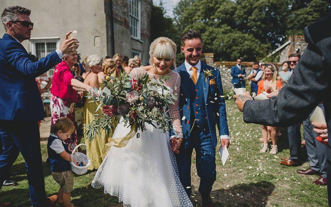 Rural Romance | Chloe and Dale's DIY Festival Farm Wedding in Norfolk