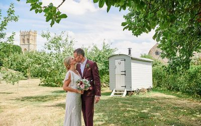 Rustic Chic | Fiona and Tim's Summer Festival Barn Wedding in Somerset