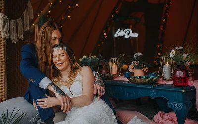 A Malibu Beach Themed Tipi Wedding Shoot….
