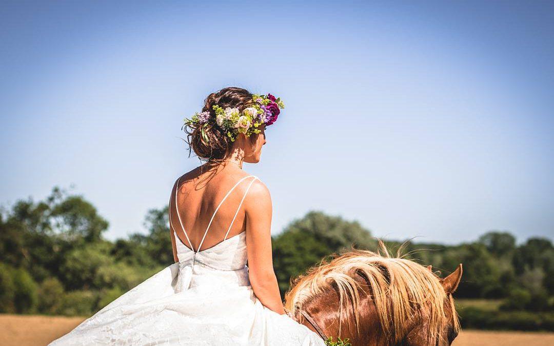 Meadow Romance | Tim and Meg's Outdoor Bohemian Tipi Farm Wedding