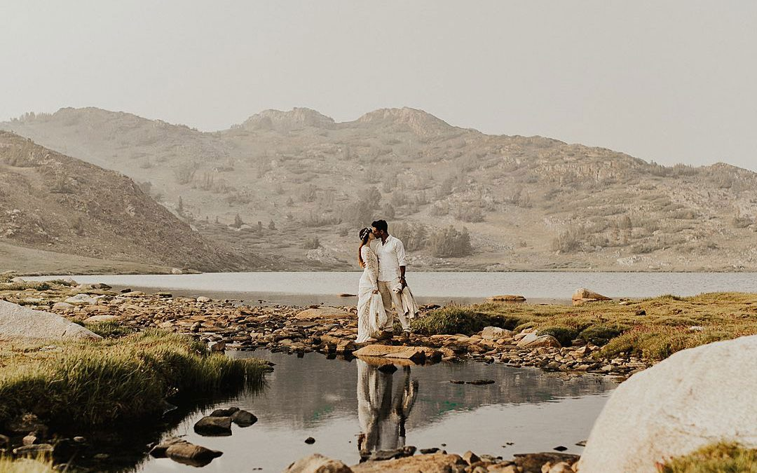 A Stunning Elopment Editorial in The Mountains of Yosemite National Park