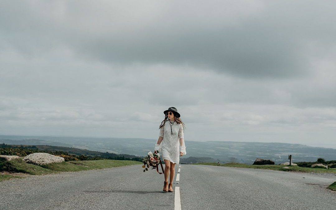 A Coachella Inspired Bohemian Wedding Shoot in Wild Dartmoor