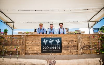 Festival Brides Love: The Three Cockerels Mobile Bar For Weddings & Events