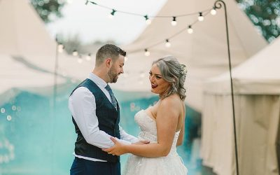 Festival Vibes | Beth and Alex's Chilled DIY Tipi Wedding in Yorkshire
