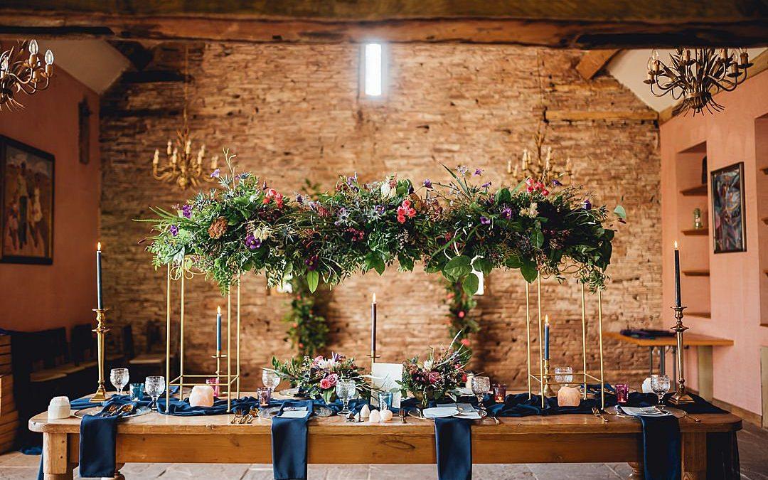 Cosmic Twilight | Starry Light Wedding Inspiration Shoot….