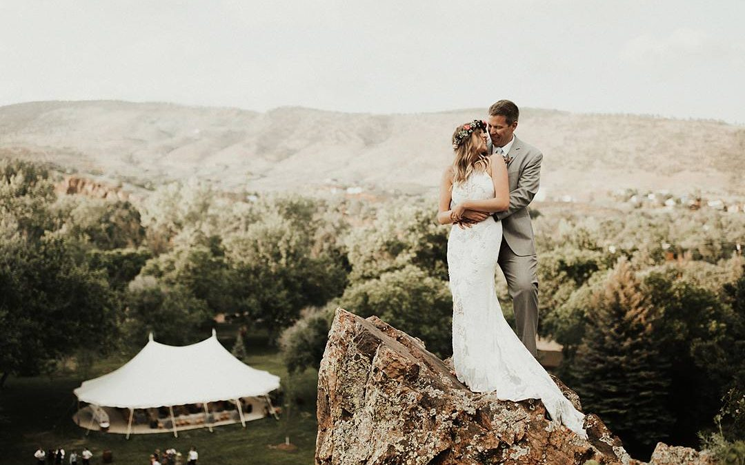 Rocky Mountain Romance | Kaley and Kyle's Free Spirited Riverside Wedding in Colorado