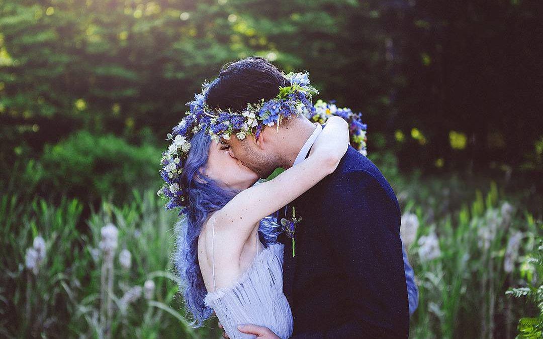 Ethereal Love | Lina and Alex's Swedish Pastel Wildflower Wedding in Maine