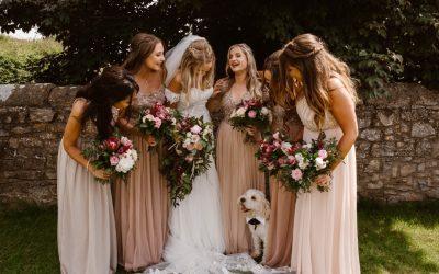 Bohemian Romance | Rachael and Chris' Rustic Macramé Barn Wedding in South Wales