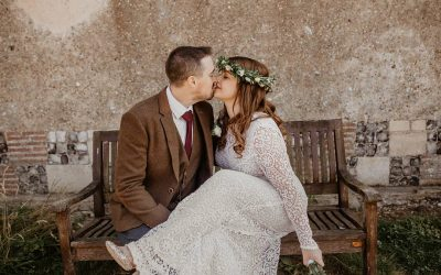 Bohemian Garden Party | Jemima and Matt's Relaxed Outdoor Marquee Festival Wedding
