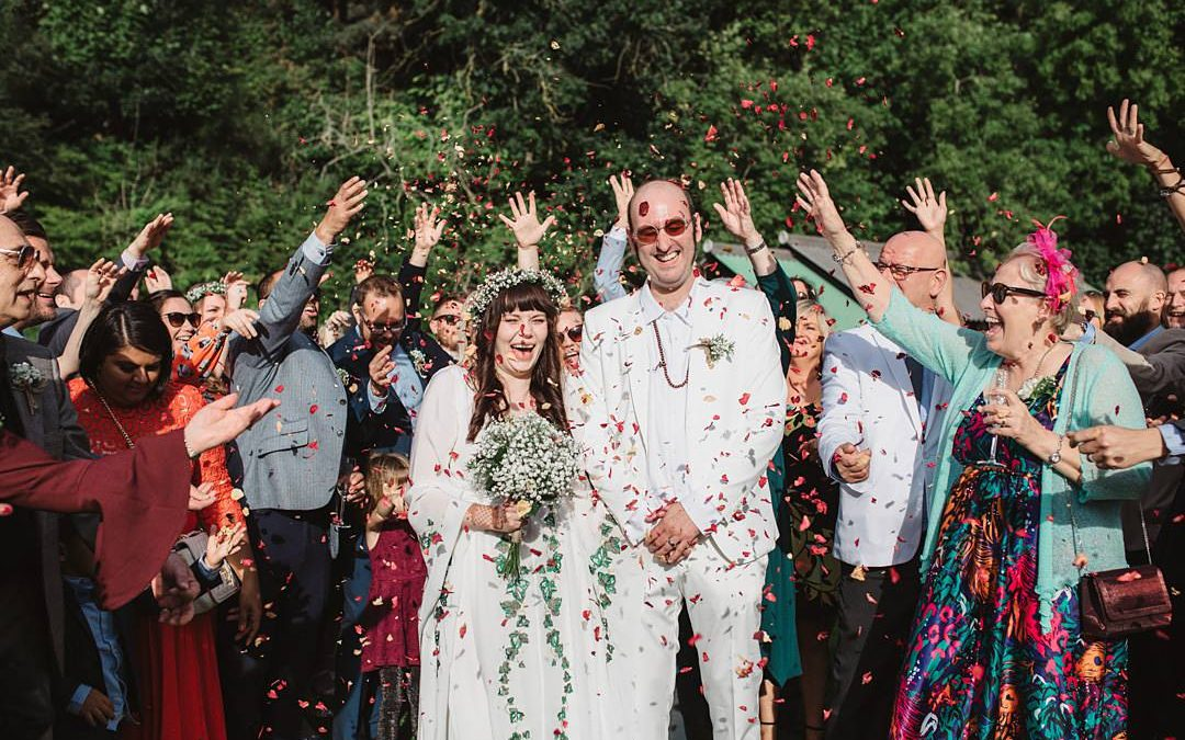 Hippy Vibes | Brittany and John's Romantic Pagan Hand Fasting Wedding in Norfolk