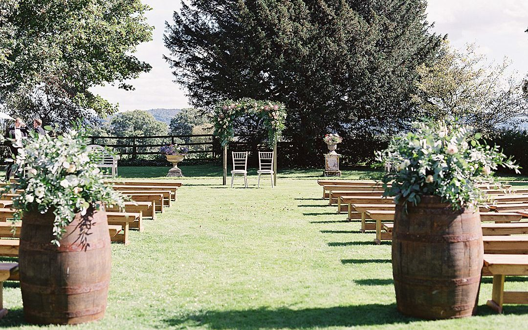 Outdoor weddings in the UK | A Guest Post By Elmore Court