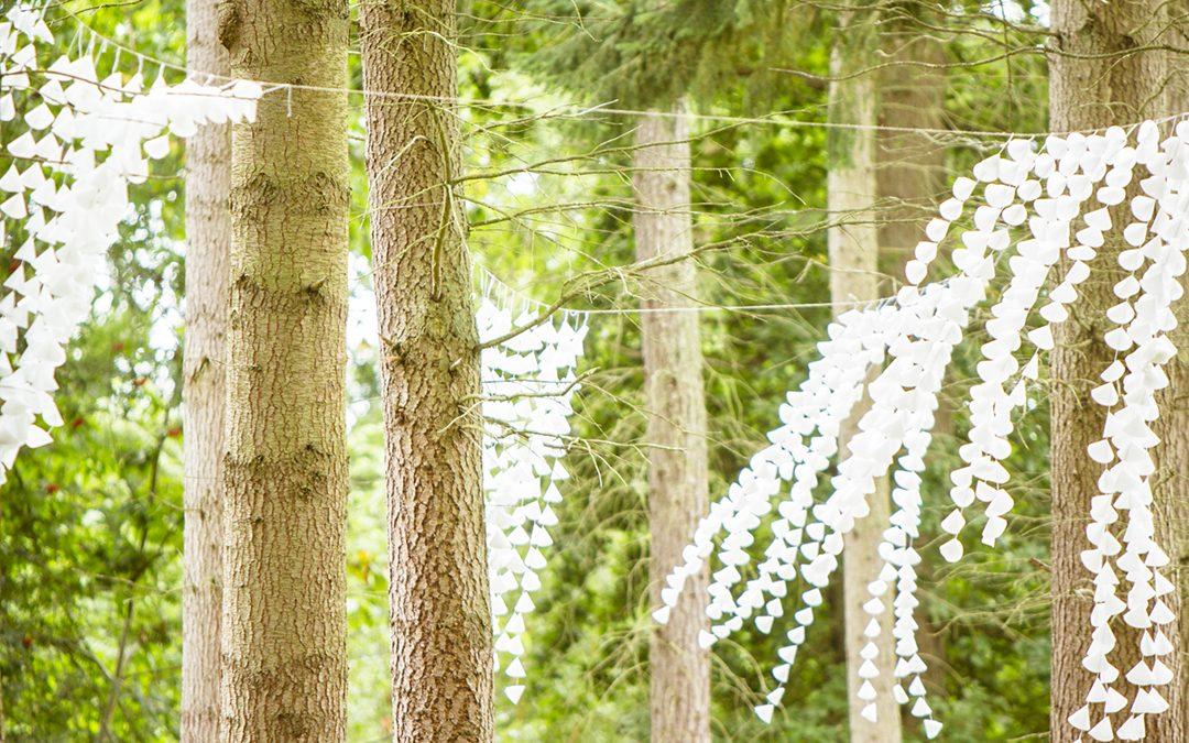 Festival Brides Love: Wasing Woodland & Secret Walled Garden